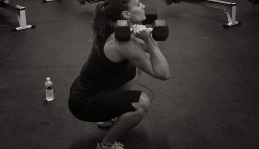 Dumbbell Thrusters 2